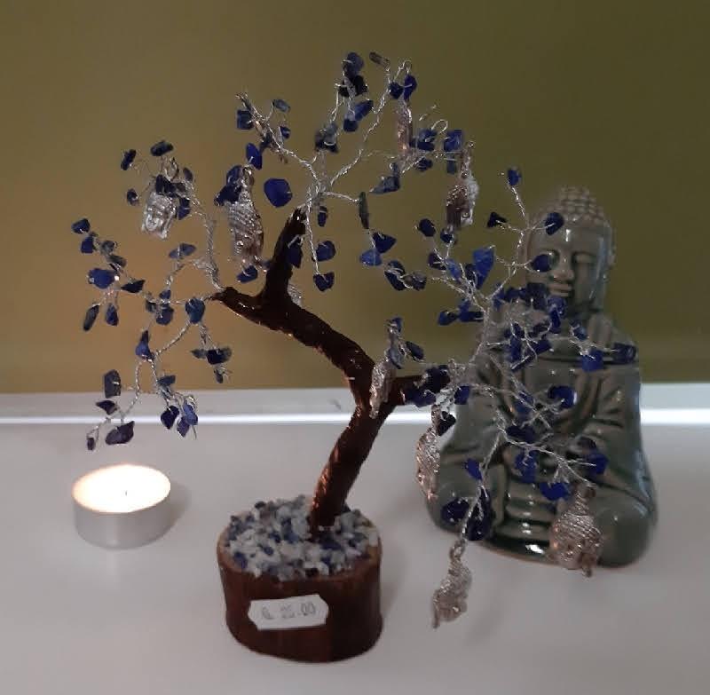 Arbre du Bonheur en Lapis Lazuli
