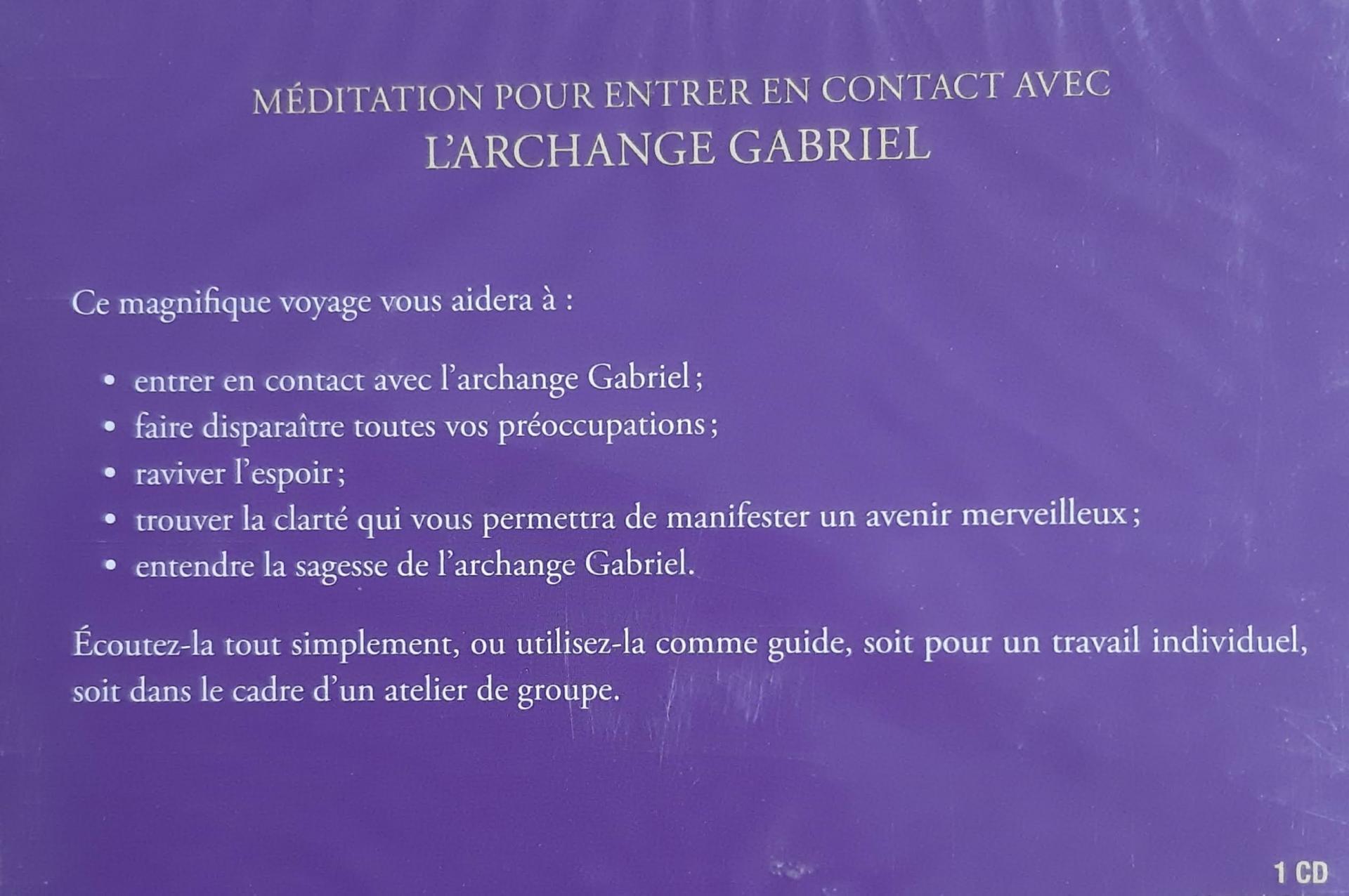 MEDITATION DE L'ARCHANGE GABRIEL DE DIANA COOPER
