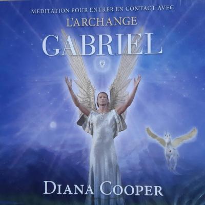 CD DE MEDITATION DE L'ARCHANGE GABRIEL de Diana Cooper