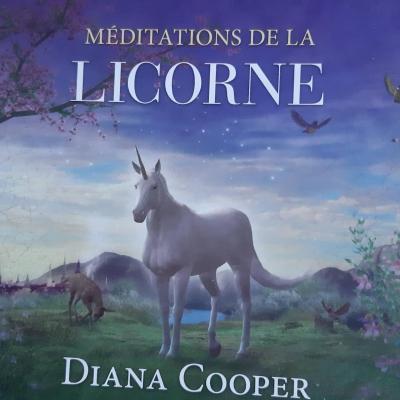 CD DE MEDITATION DE LA LICORNE de DIANA COOPER