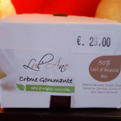 Crème Gommante LUL'ANE - 50ml - 50% Lait d'ânesse