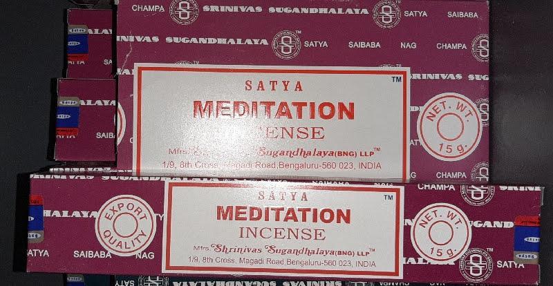 Encens meditation batons