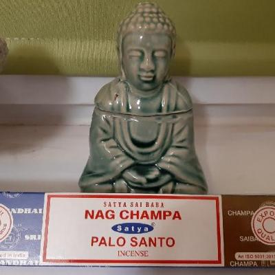 Encens Satya double parfum Nag Champa et Palo Santo (bâtons)