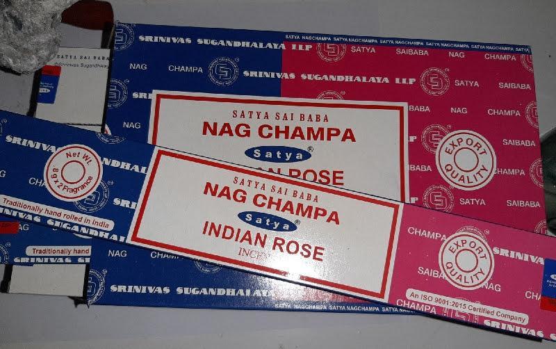 Encens nag champa rose indienne
