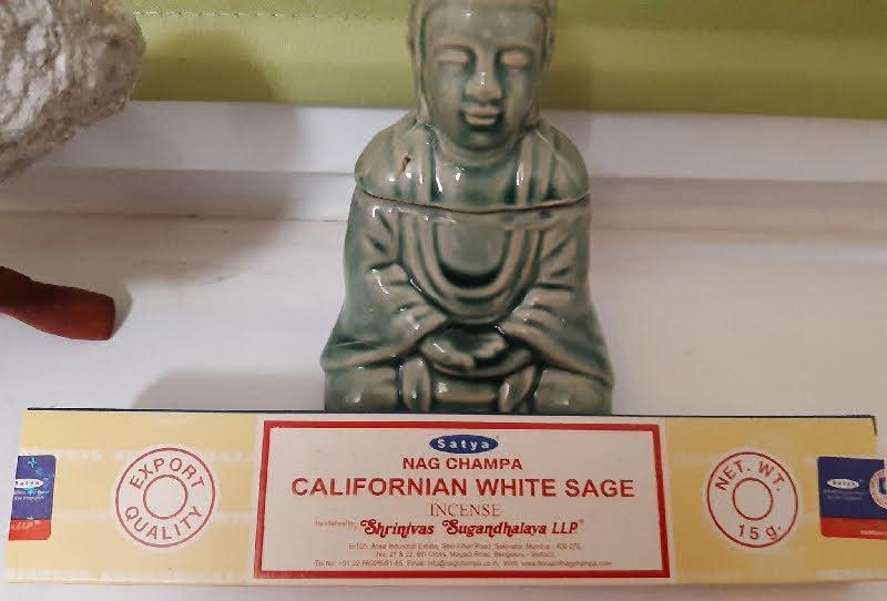 Encens sauge blanche de californie