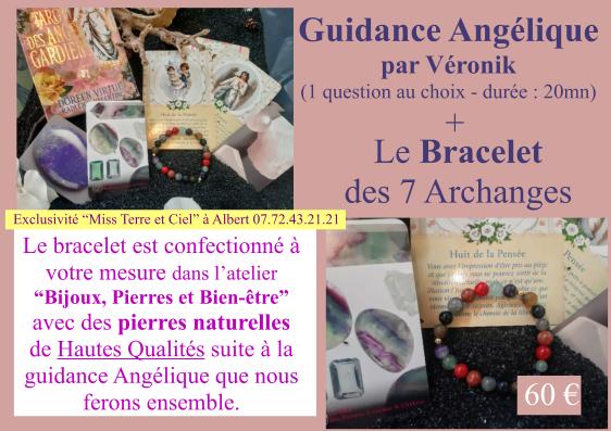 Guidance et bracelet angelique 1