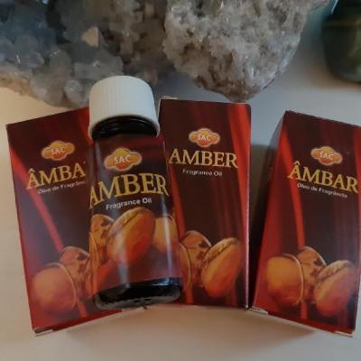 AMBRE - HUILE A BRULER OU A DIFFUSER
