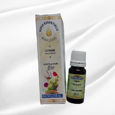 Huile essentielle biofloral citron 100 naturelle