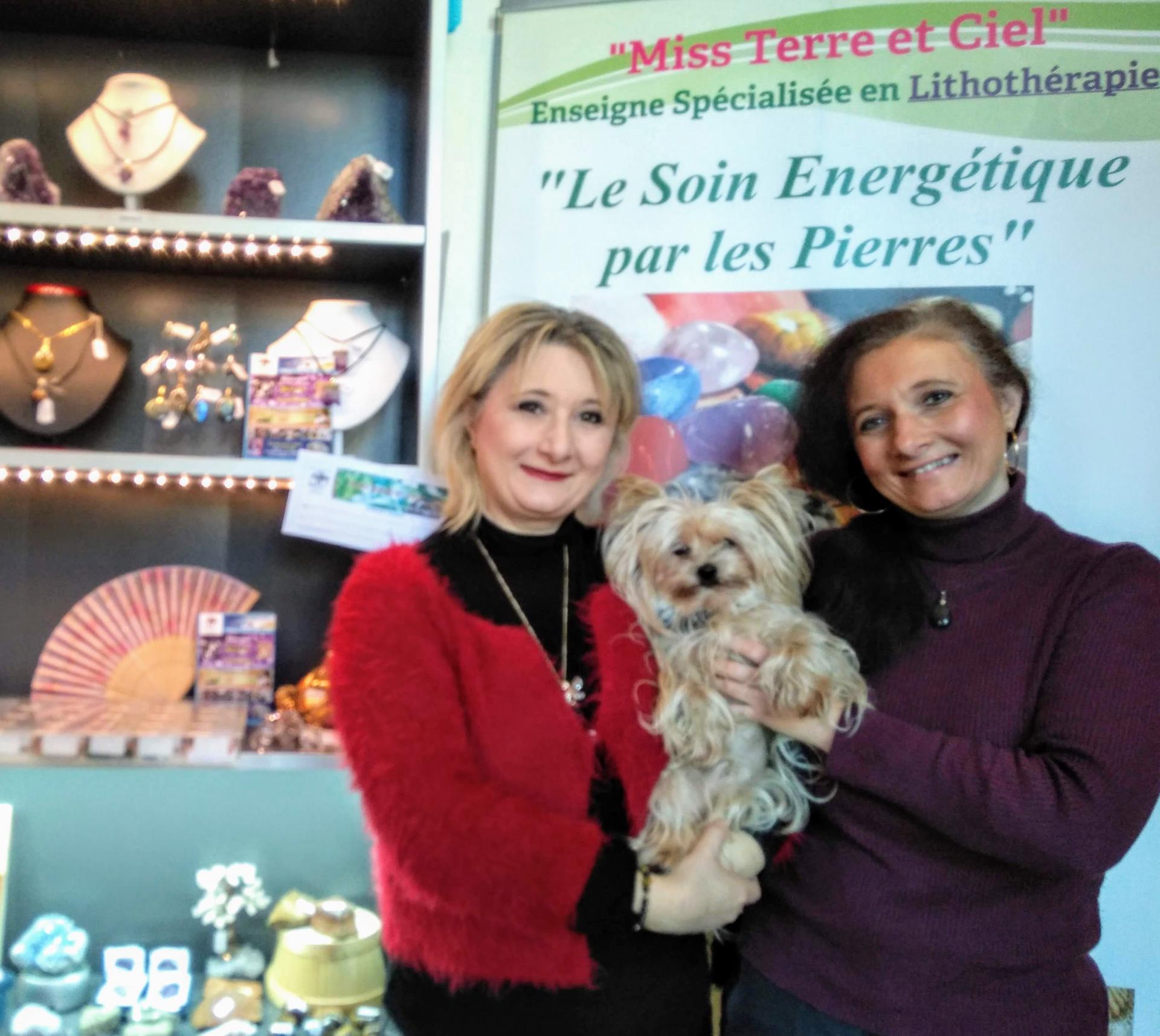 Nathalie, Véronik et Bandy