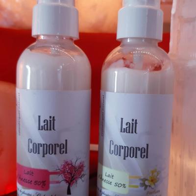 Lait Corporel LUL'ANE - 50% de lait d'ânesse