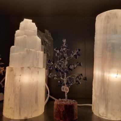 Lampe de Sélénite (3 kg) 100% naturelle