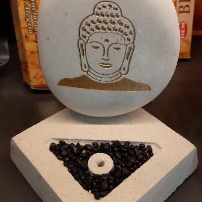 Porte encens Bouddha Thaï