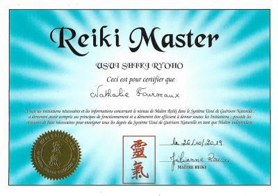 Stage d'INITIATION REIKI USUI RYOHO 1er NIVEAU