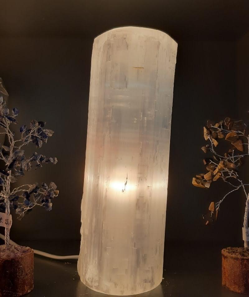 Selenite cylindre