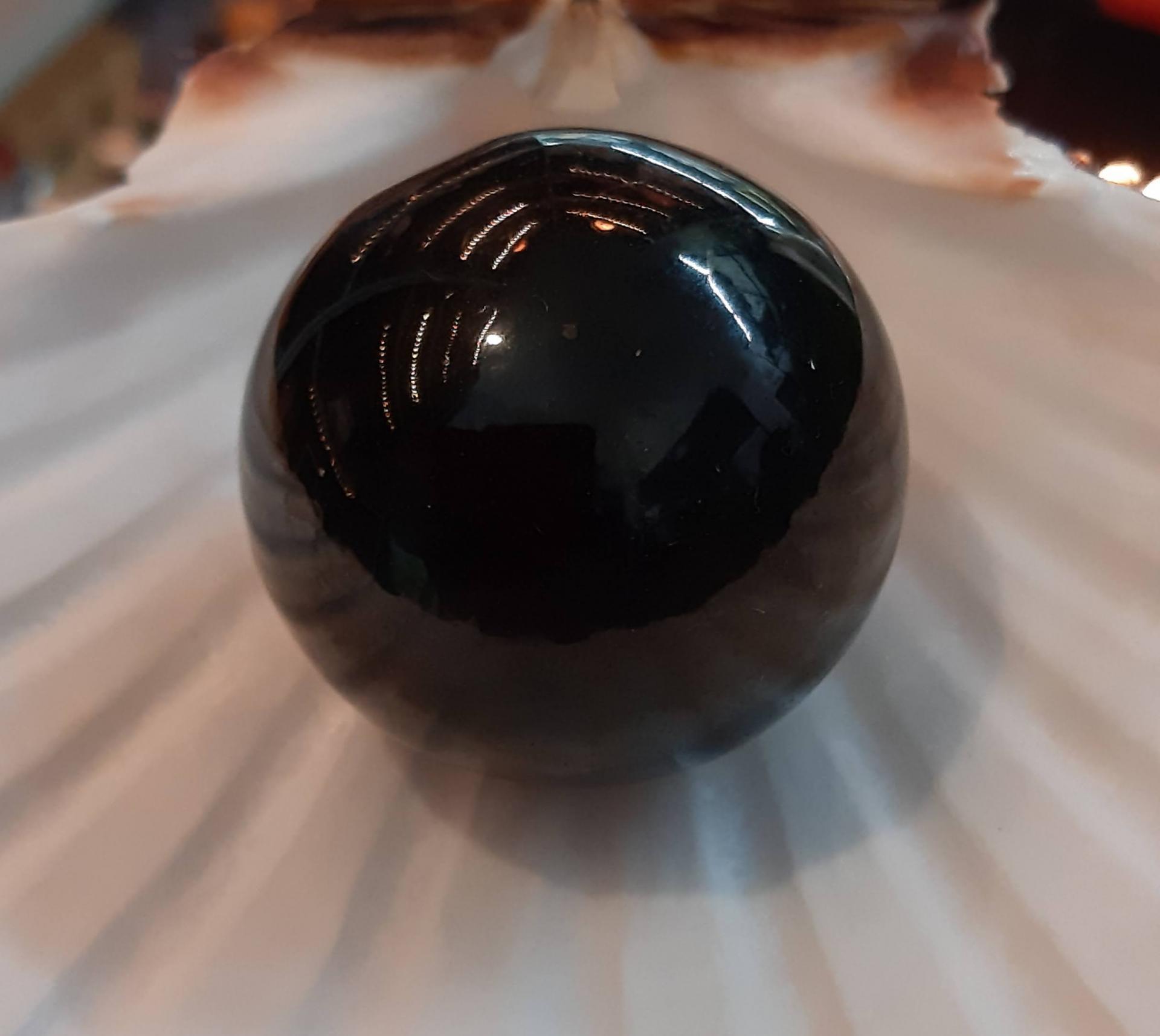 Sphere de sungite