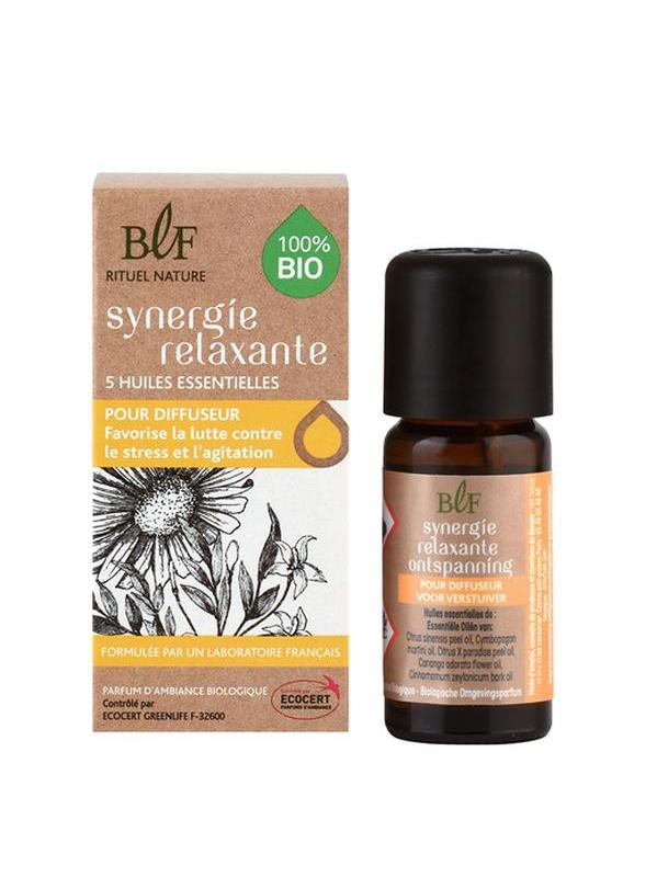 Synergie huile essentielle relaxante