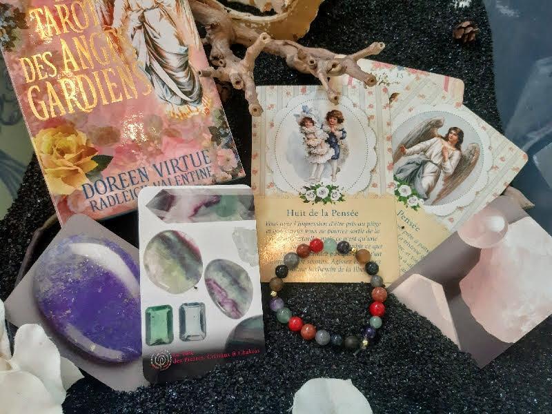 Tirage angelique avec bracelet des 7 archanges