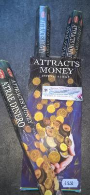 encens bâton attrape monnaie